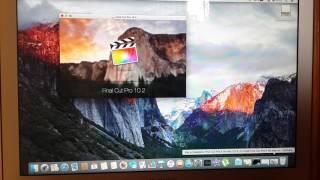 Установка Final Cut Pro X на MacBook Air 13 бесплатно