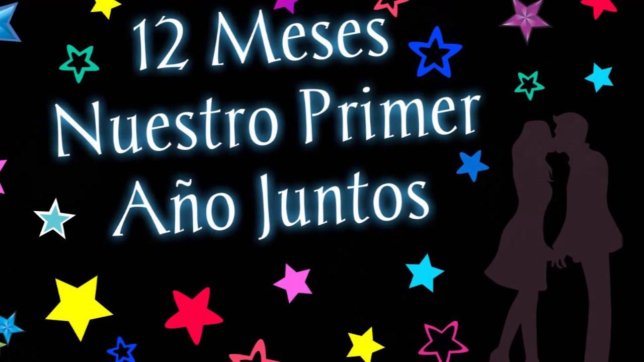 28 Meses Mi Amor: 12 Meses♥ Un Año A Tu Lado