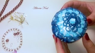 Christmas Decoration with quilling - Alberta Neal