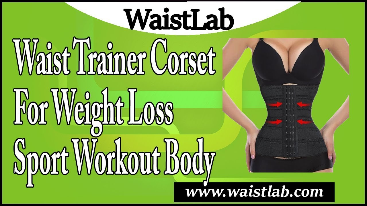 1d5f0977b7c94 Waist Trainer Corset for Weight Loss Sport Workout Body Shaper Tummy ...