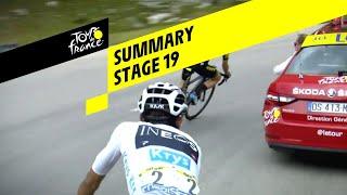 Summary - Stage 19 - Tour de France 2019