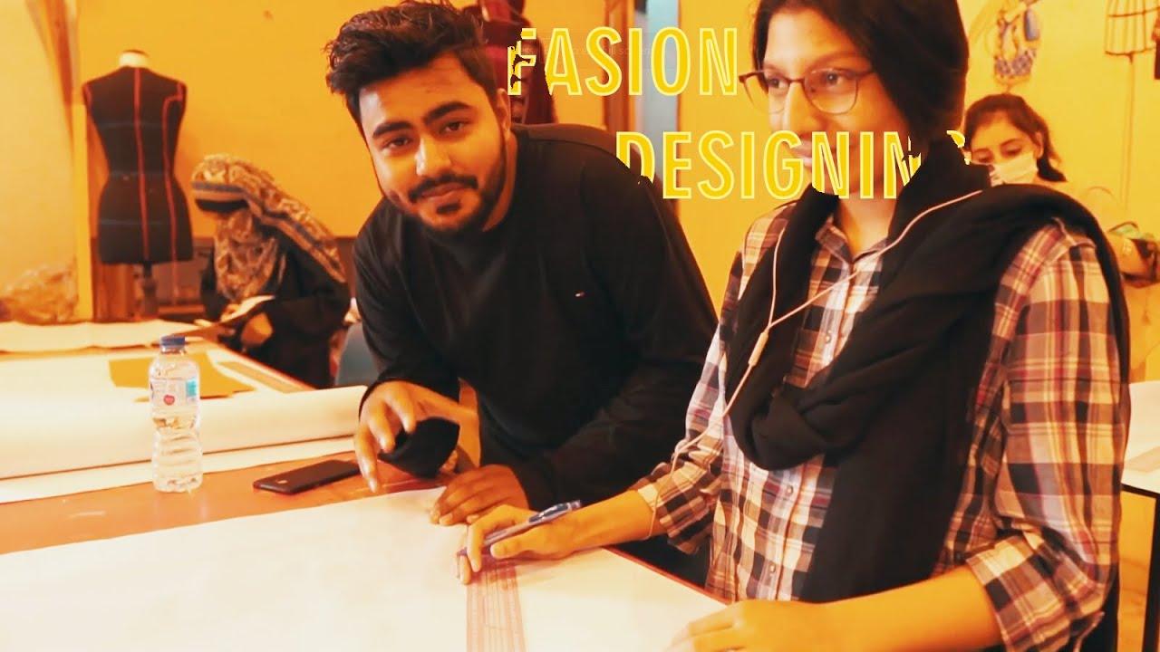 Future Fashion Designers Of Iqra National University Youtube