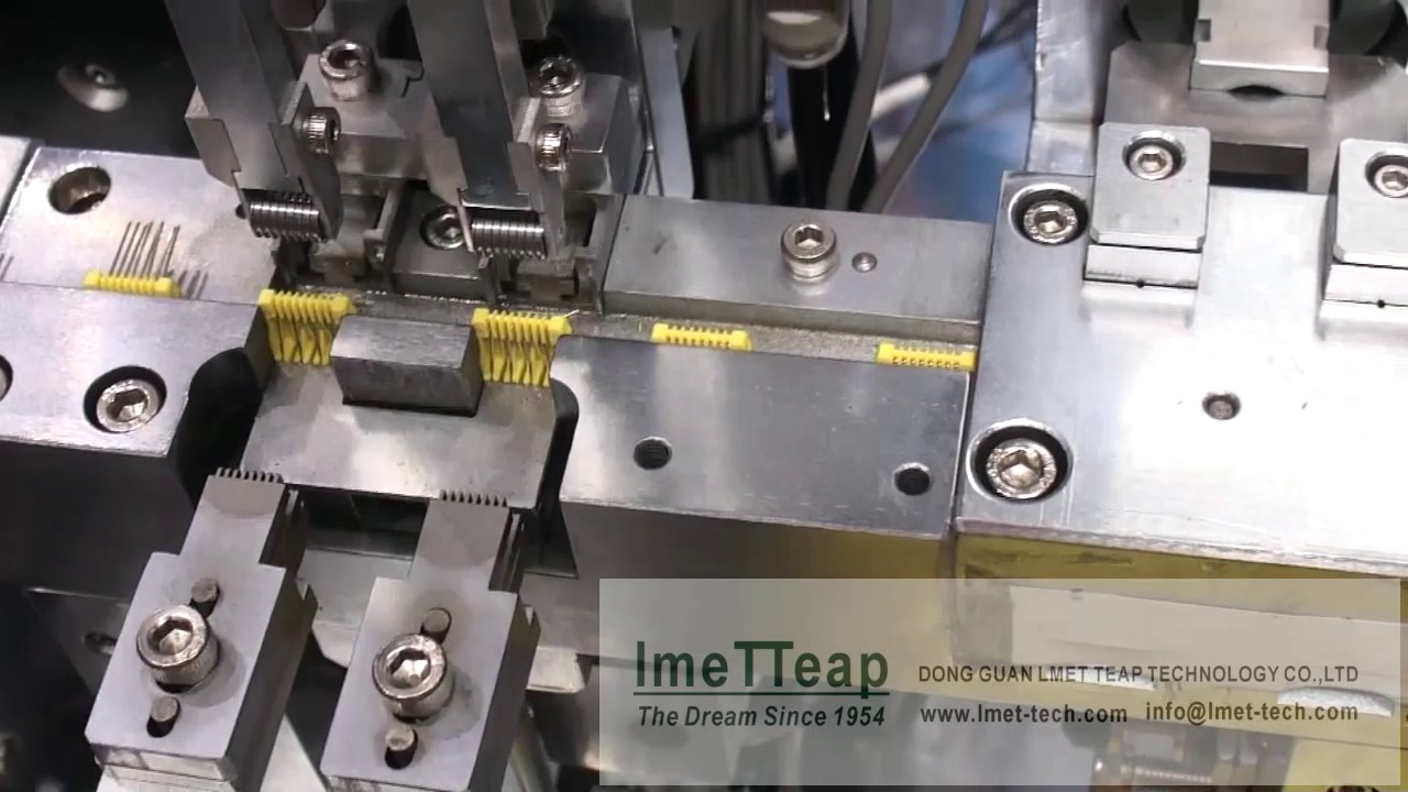 Rj Connector Pin Insertion Bending Machine