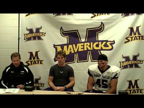 The University of Sioux Falls Post-Game Press Conference