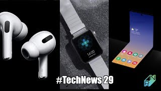 Galaxy Fold 2, Xiaomi Mi Watch, AirPods Pro i One UI 2 #TechNews 29 | Robert Nawrowski