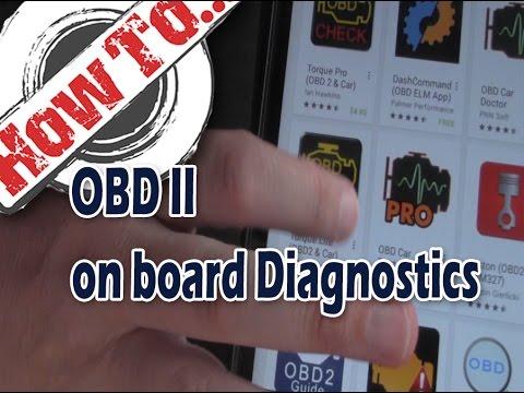 Access your on-board diagnostics