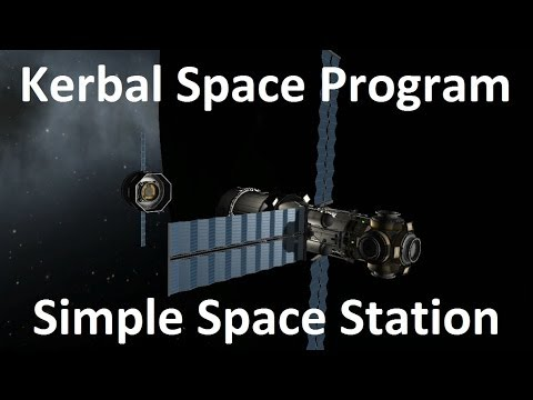 Kerbal Space Program - Simple Space Station - Download ...