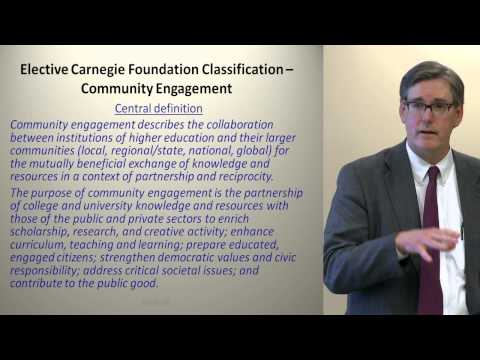 Achieving National Prominence through the Carnegie Classification 2