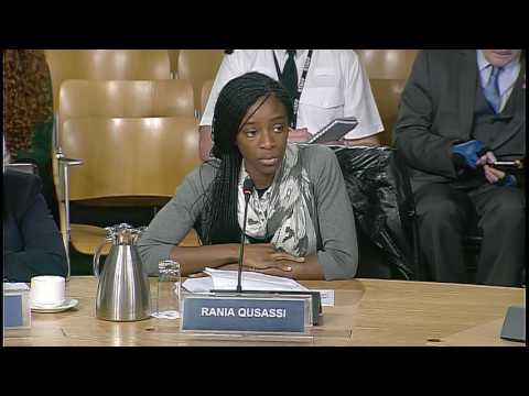 Equal Opportunities Committee - Scottish Parliament: 8th September 2016