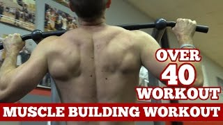 men over 40 workout how to build muscle at 40 years old