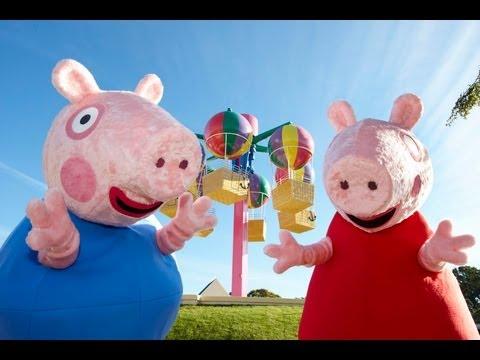 Peppa pig kids funfair kids programme character