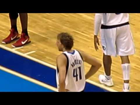 2011 NBA Finals - Game 4 - Dirk Nowitzki Plays With a 101 Degree Fever.
