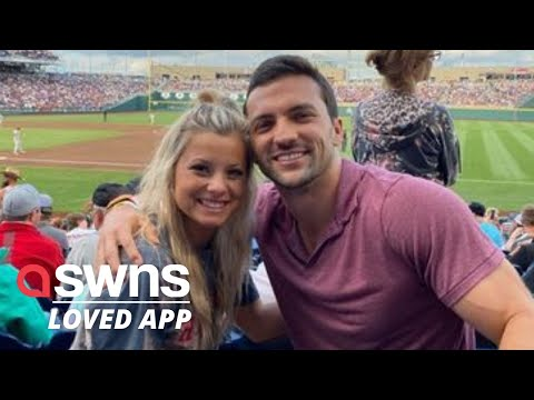 US man flies 650 miles to visit his crush - after she said she fancies him on TikTok | SWNS