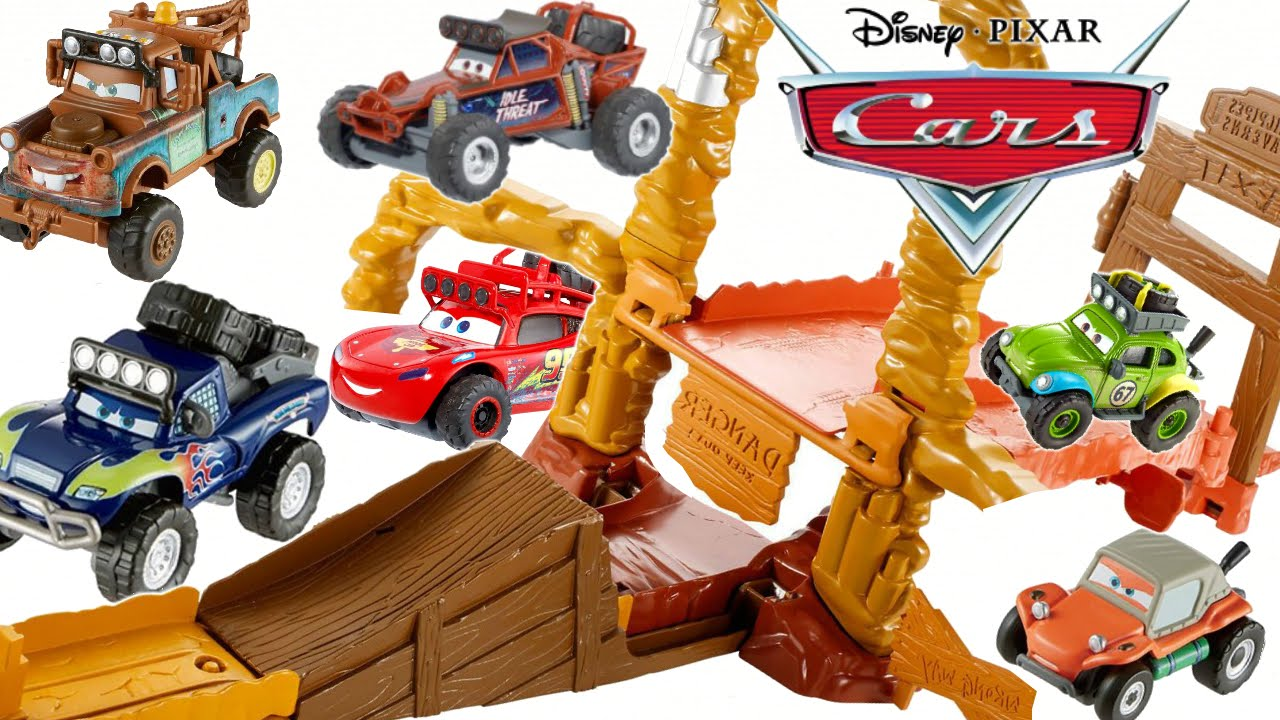 cars radiator springs 500 1 //2 playset junction
