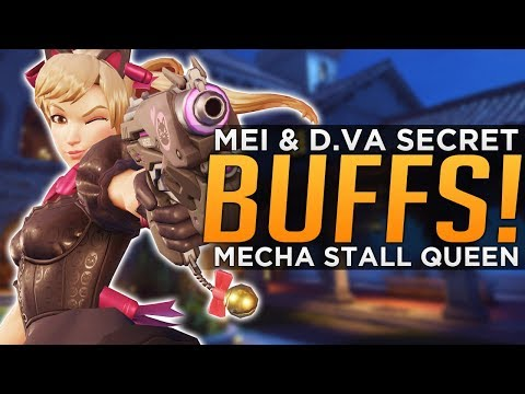 Overwatch: D.Va & Mei Secret BUFFS & Changes