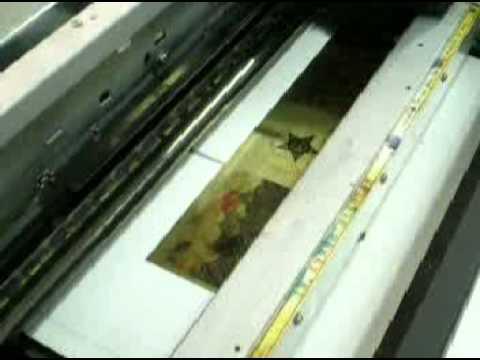 Printing on Brass.  Printing Photographs on Metal using a Printer.
