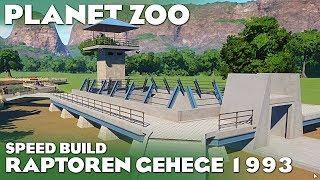 PLANET ZOO JURASSIC PARK RAPTOREN GEHEGE SPEED BUILD Planet Zoo Deutsch #40