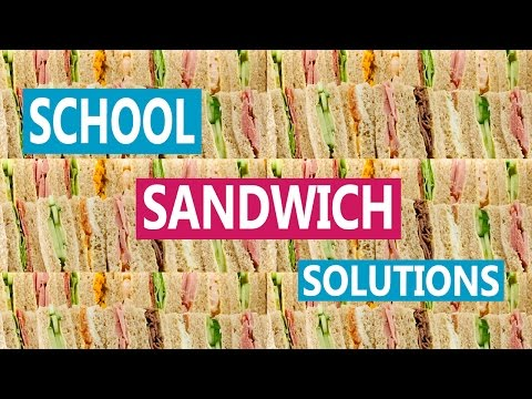 DIY Healthy Back to School Sandwich Solutions