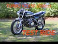KZ650 (830cc) Turbo - Relaxing evening ride before the storm -