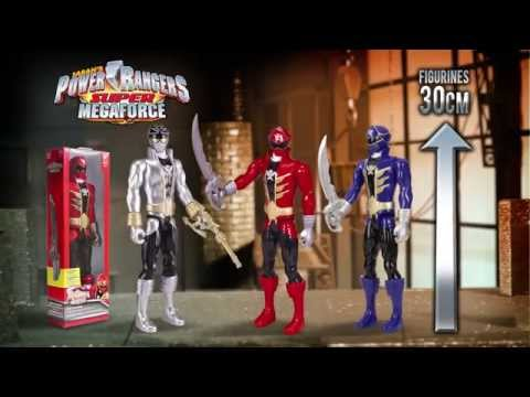 Loose Power Rangers Super Megaforce Key Bleu RPM