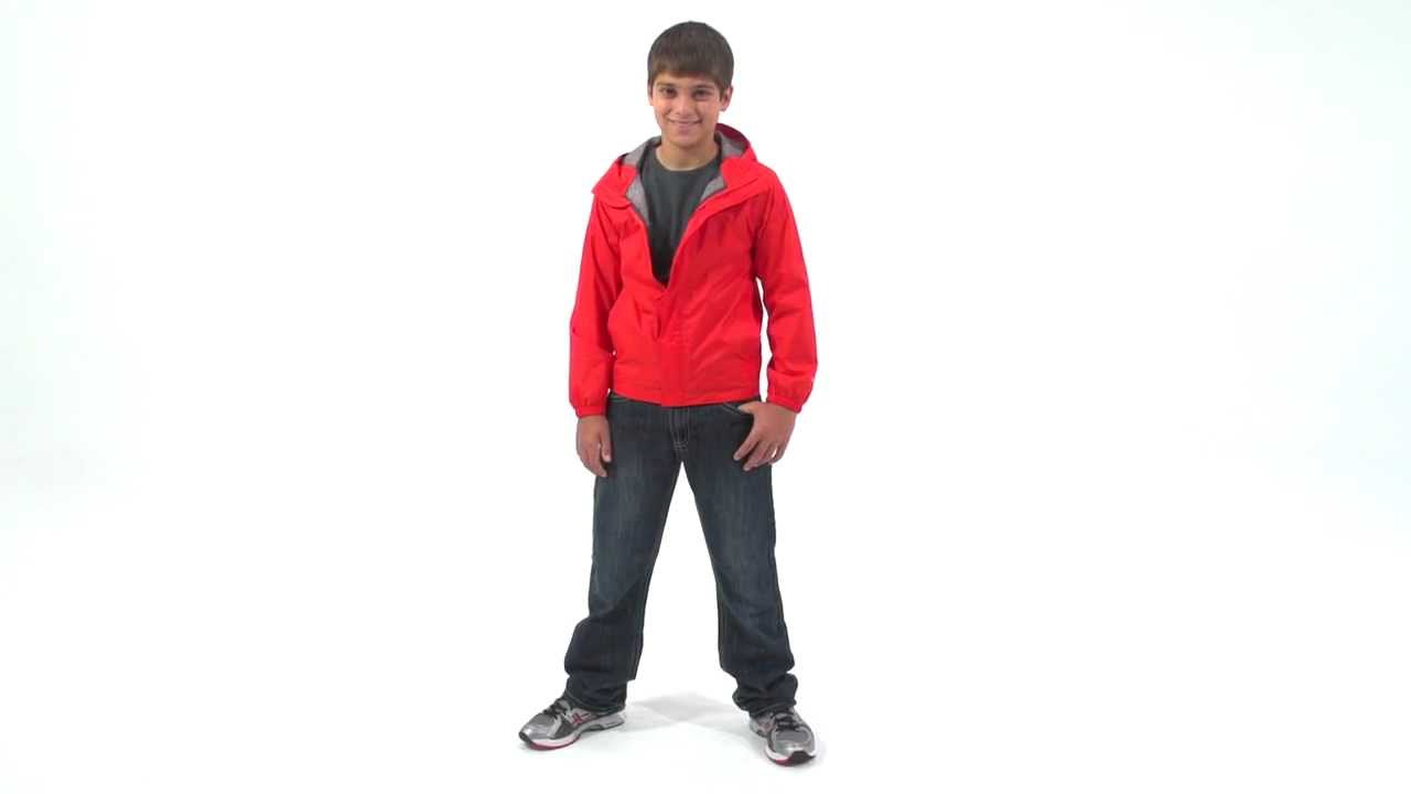 aef56b02 The North Face Boys' Zipline Rain Jacket - YouTube