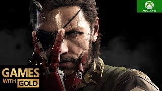 Metal Gear Solid V: The Phantom Pain Xbox One X Gameplay Games With Gold