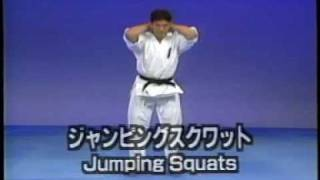 Karate kyokushin basic training