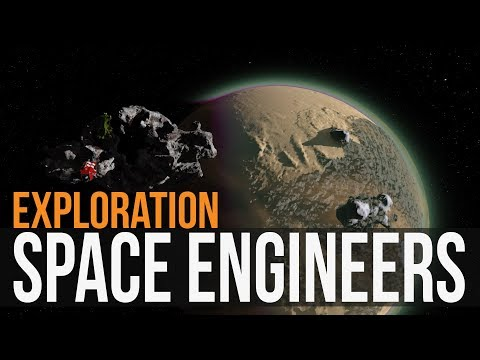 Space Engineers - Exploration Ep1 (Light Speed edition)