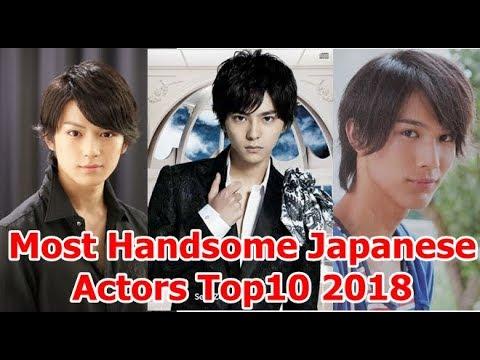 Most Handsome Japanese Actors Top10 2018