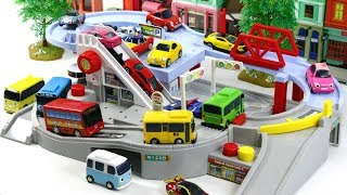 Let's run with Tomica Ride with Tayo in Bus town #1145 ToyTv Movie