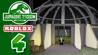 RIESIGE CAGE ENCLOSURE - Roblox Jurassic Tycoon #4