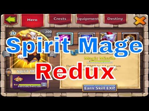 Castle Clash Spirit Mage Redux