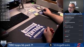 Vintage Breaks Live Stream 9-24-2018