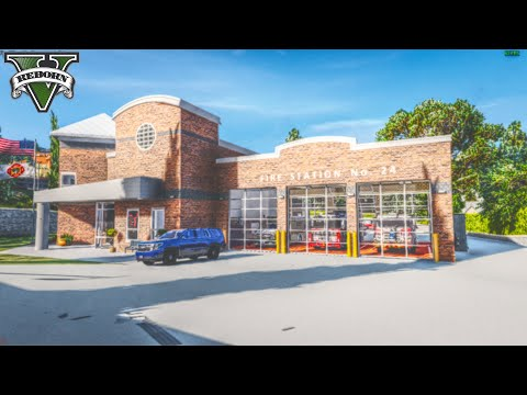 NEW Fire Station   FivePD Fire Callouts   #OhioRP