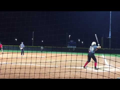 KaiLi Gross 2020 Pitching and Hitting at the 2018 Headfirst Honor Roll Camp in Florida