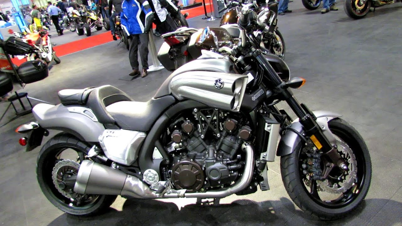 2014 yamaha v max walkaround 2014 toronto motorcyle show youtube. Black Bedroom Furniture Sets. Home Design Ideas
