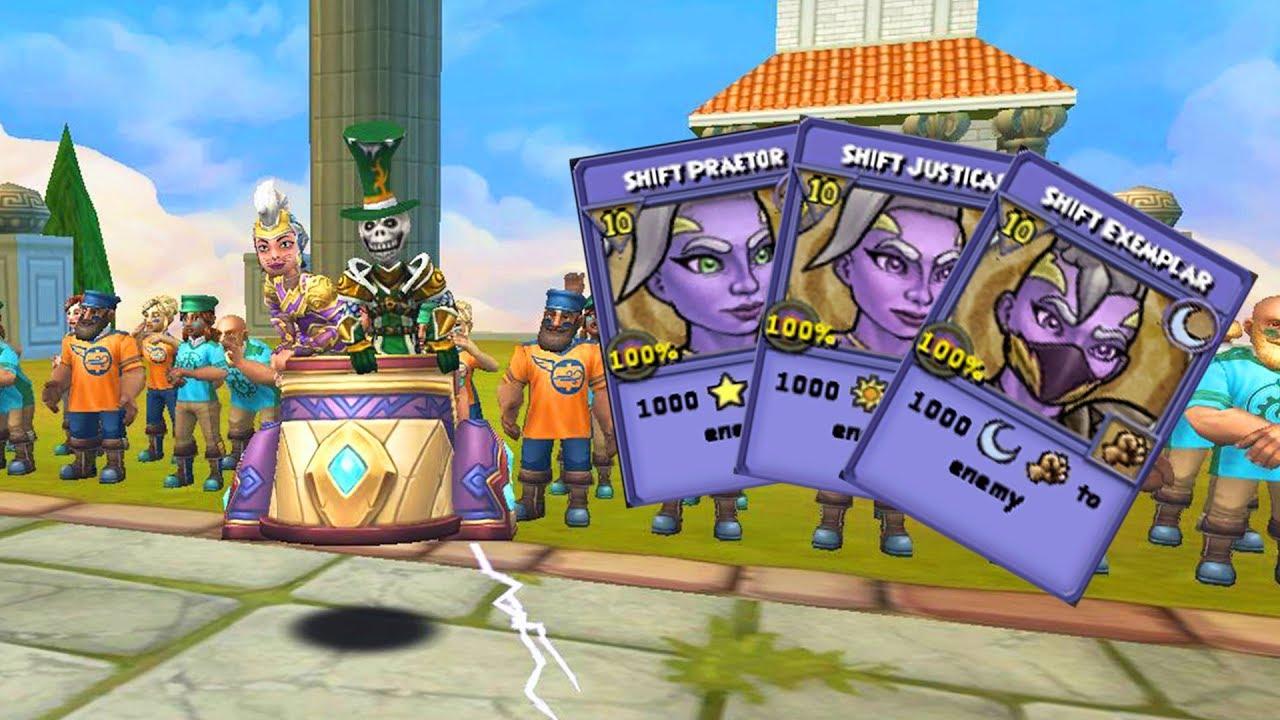 Wizard101: NEW Nimbari Hoard Pack Maycasts!