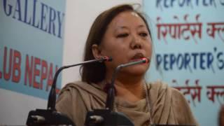 राजदूतबाट हटाएको समाचार आएपछि पत्रकार सम्मेलनमै 'आगो' भइन आशा लामा