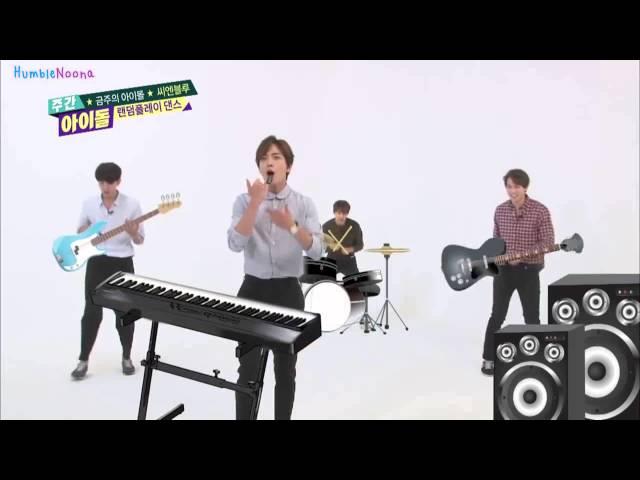 [ENGSUB] 150930 Weekly Idol CNBLUE Random Play Dance Cut
