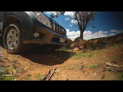 2009 Toyota LandCruiser Prado Media Launch