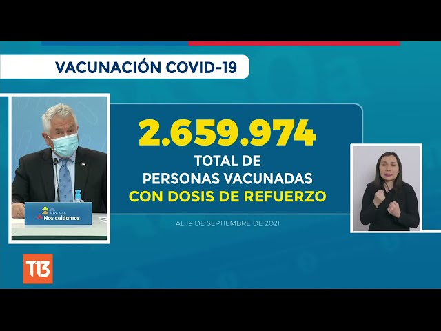 Coronavirus en Chile: Reporte 20 de septiembre