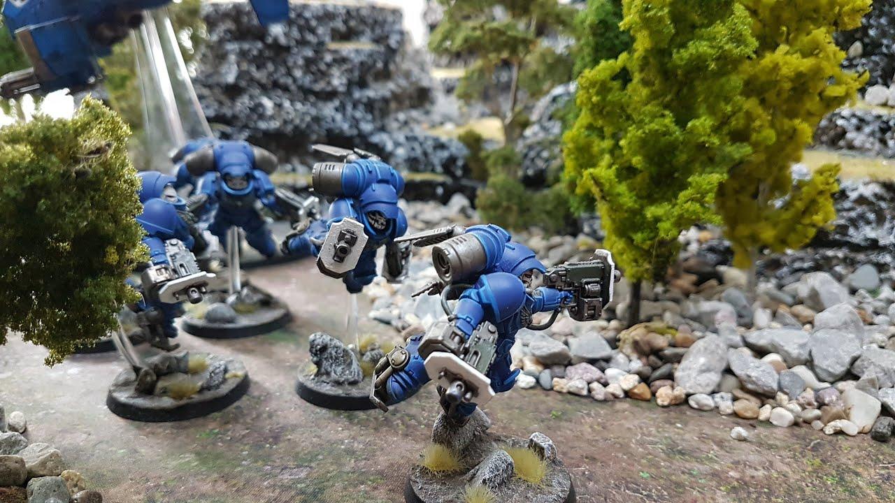 9th edition Warhammer 40k battle report, Eldar v Space Marines