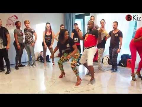 PETCHU & VANESSA explanations semba show ROMA KIZOMBA FESTIVAL 2015