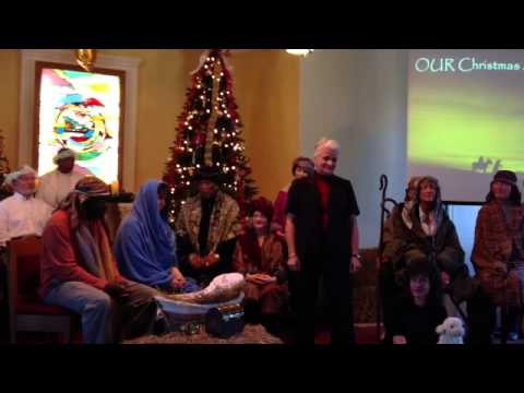 """OUR Christmas Story"" by Pat Moore at Unity in Greensboro on December 15, 2013"