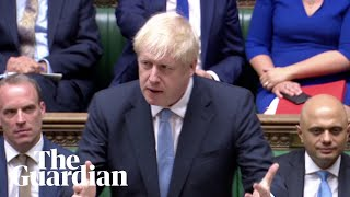 Boris Johnson's opening statement as PM to the House of Commons