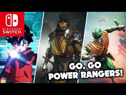 Mortal Kombat 11 confirmado para Abril | Power Ranger Battle for the Grid | Super Dragon Ball Heroes