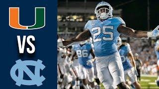 Week 2 2019 Miami vs North Carolina Full Game Highlights