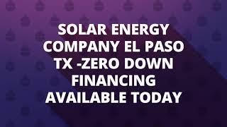 NM Solar Group - Solar Panels in EL Paso, TX