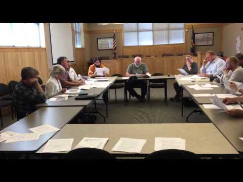 Prineville's Air Quality Task Force Committee Mtg. 3/19/2015