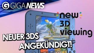 New Nintendo 3DS, Pokken Tournament, Amazon kauft Twitch und mehr! - GIGA News - GIGA.DE